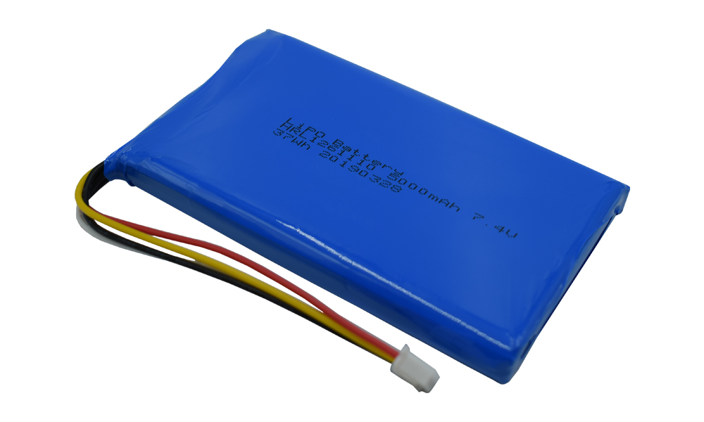 Top Suppliers Custom Batteries Can Explode - HRL customized 7.4v lithium battery packs 5000mah for Medical devices – Hrlenergy