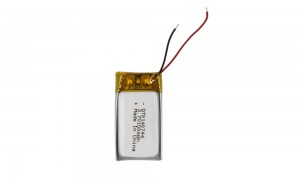 Customized size the smallest HRL3.7v 100mah lipo battery.