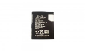 nokia bl-5c genuine replacement battery1000mAh for Moble phone