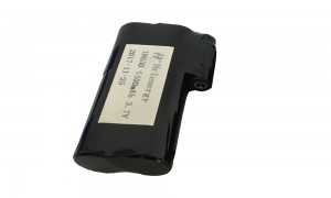 4400mah li-ion battery pack 3.7v for heating clothes gloves