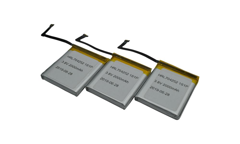 OEM manufacturer 2600mah 18650 Battery - china factory704252 3.8v 2000mah lithium ion packs – Hrlenergy