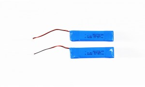 HRL351772 400MAH 7.4V polymer battery pack with ROHS REACH certificates