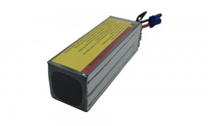 High Discharge C rating lithium polymer battery6S 22.2V5200mAh