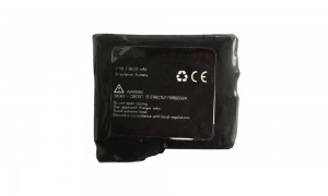 High power rechargeable Li-Ion batteries 7.4V / 1.8 Ah / 13.32Wh for Heated Gloves