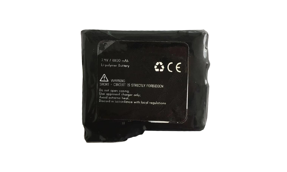 High power rechargeable Li-Ion batteries 7.4V / 1.8 Ah / 13.32Wh for Heated Gloves Featured Image