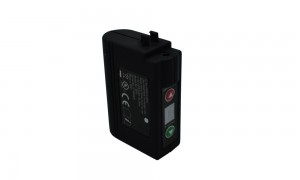 ICR18650 7.4V 2200mAh lithium ion battery for heated motorcycle gloves