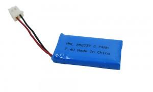HRL252037 100mAh 3.7V Lipo batteries