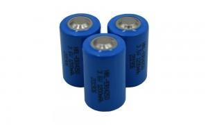 ER14250 3.6v 1200mah Instrument water meter li-socl2 lithium battery